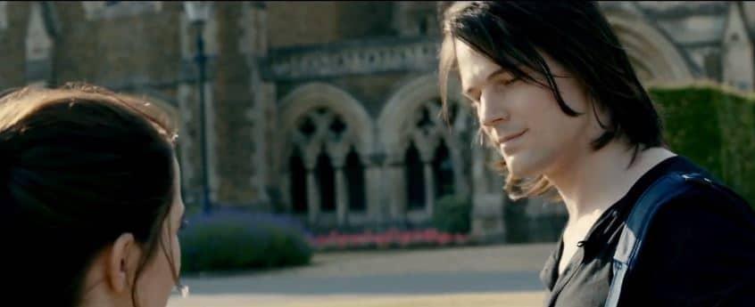 Dimitri smiles at Rose