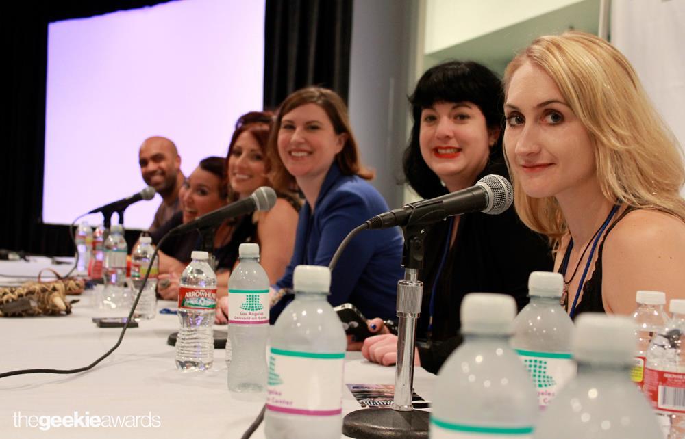 Geek Girls Create Panel