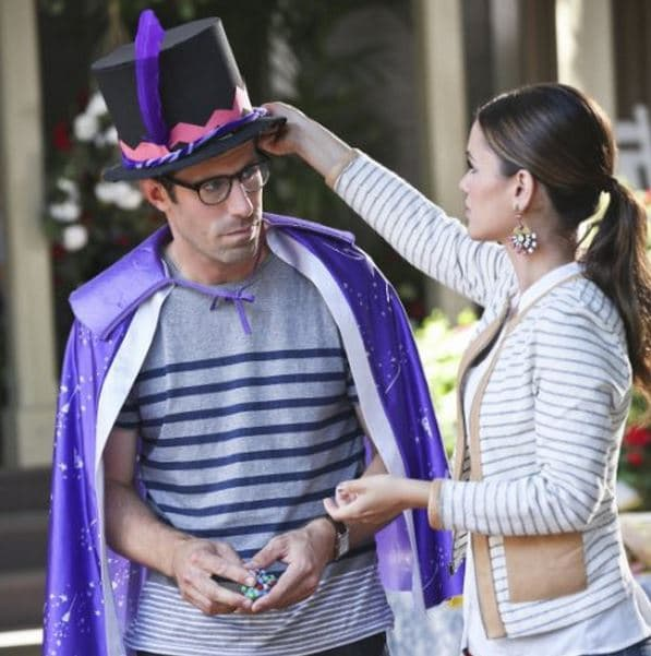 Joel and Zoe from Hart of Dixie. Photo: CW