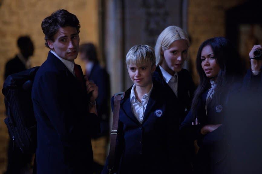 The typical school clique. Still of Sami Gayle in Vampie Academy. Photo: The Weinstein Co.