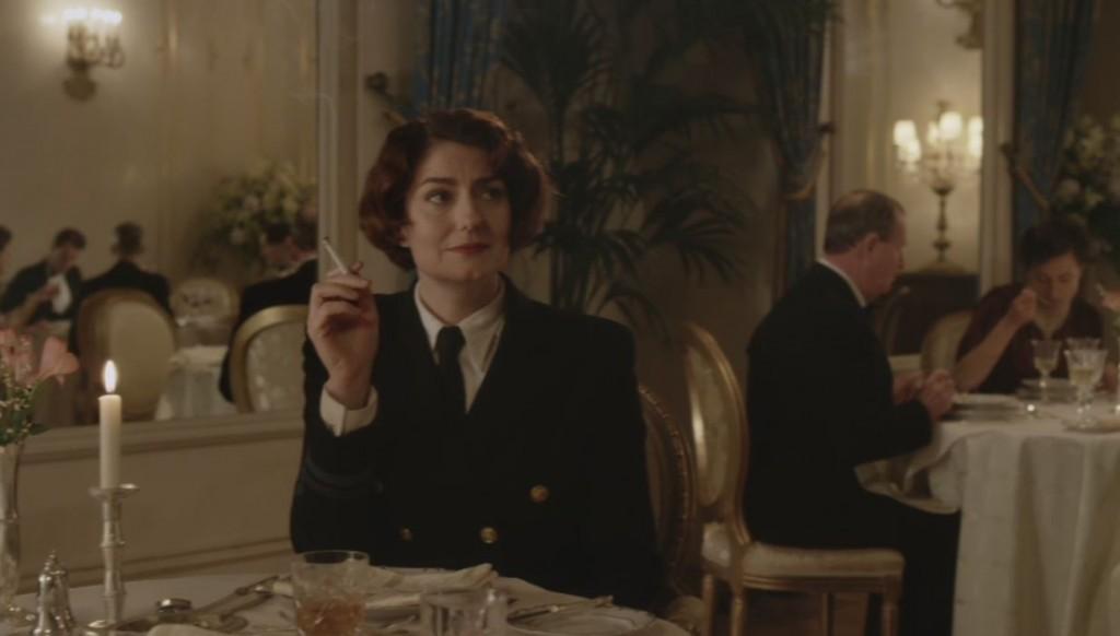 Anna Chancellor as Monday. Photo: BBC America