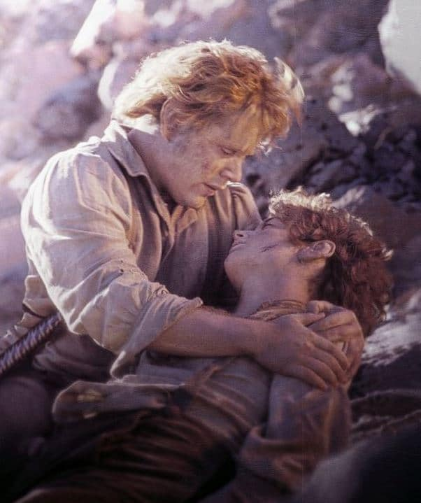 Frodo and Sam in Return of the King: All hope seems lost... Photo: New Line