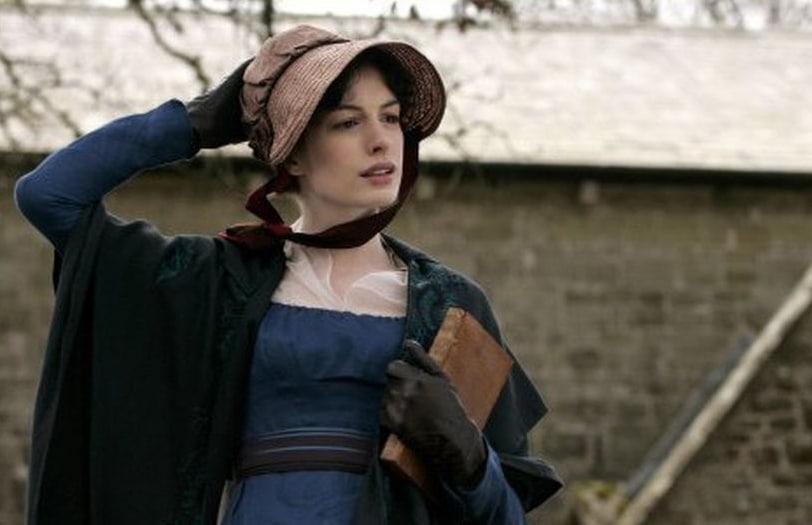 Jane Austen in Becoming Jane. Photo: Miramax