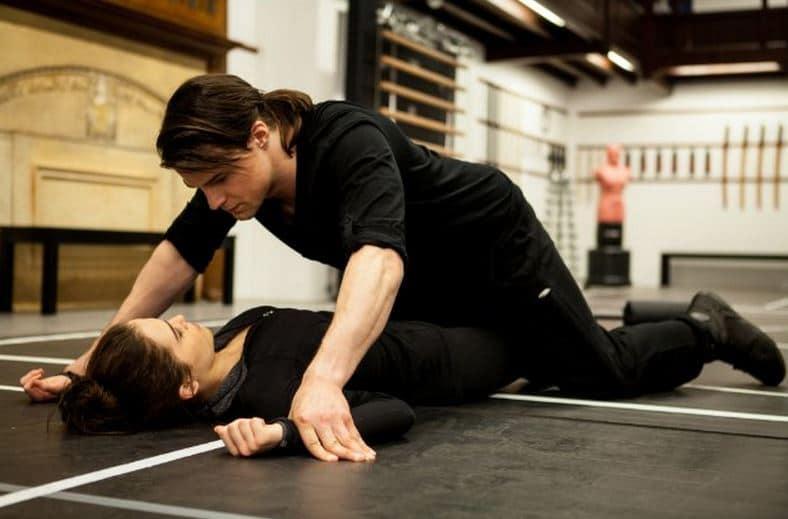 Zoey Deutch And Danila Kozlovsky Training