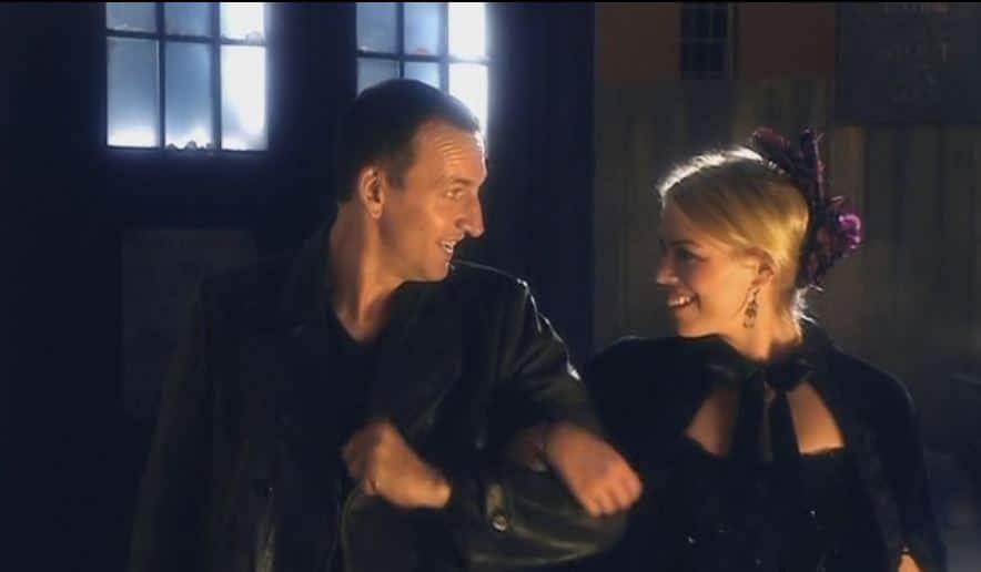 doctor and rose having fun