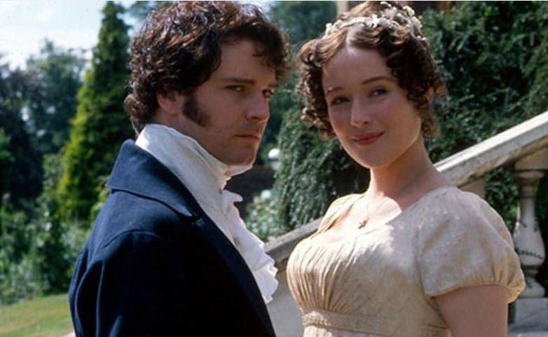 Darcy and Elizabeth Photo: BBC