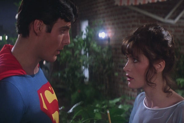 Lois and Clark in Superman