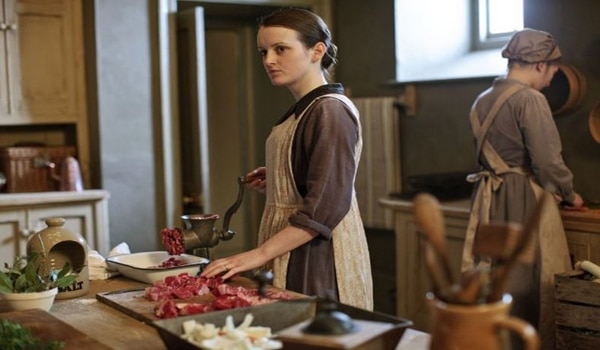 Top 40 Introverted and Shy Female Characters in Film and Television - Daisy from Downton Abbey