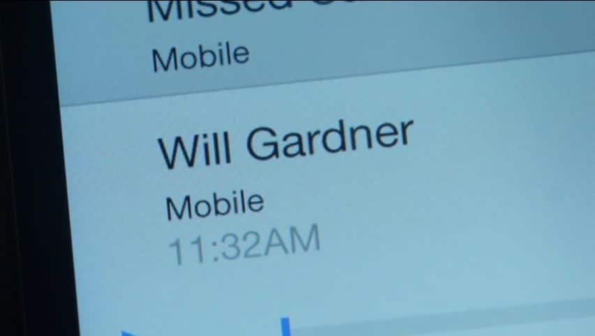 Will Gardner missed call