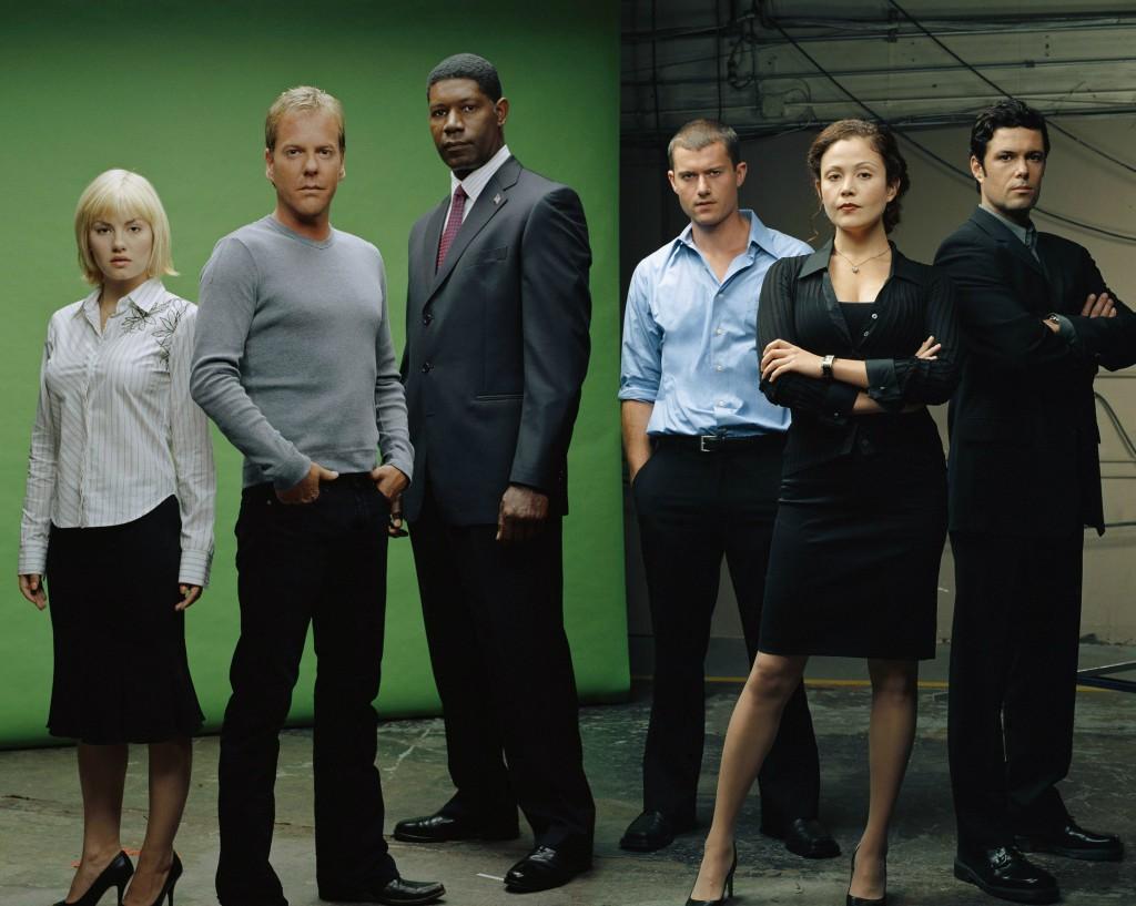 The season 3 cast of 24. Photo: Fox