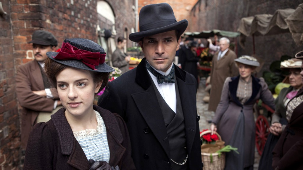 Henri and Agnes in Mr. Selfridge. 20 of the Most Romantic Period Drama TV Series to Watch