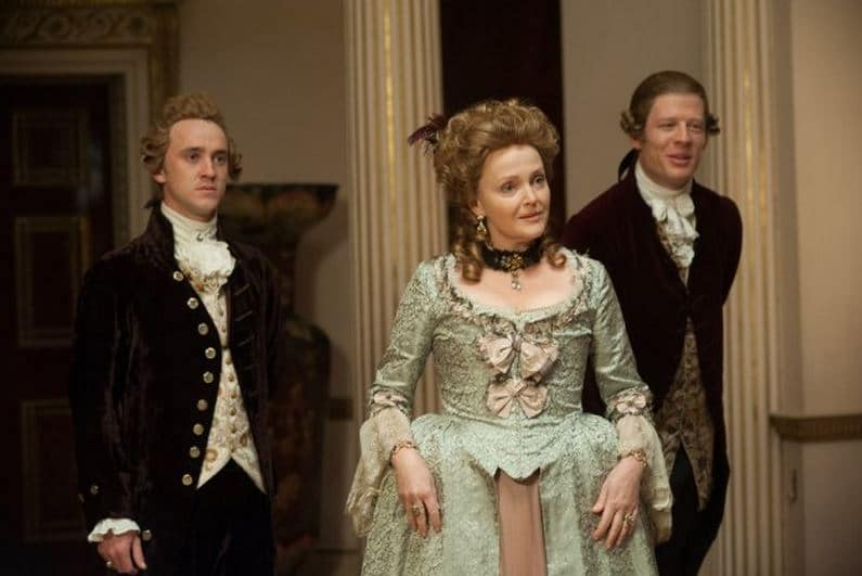 Lady Ashford and her sons. Photo: Fox Searchlight