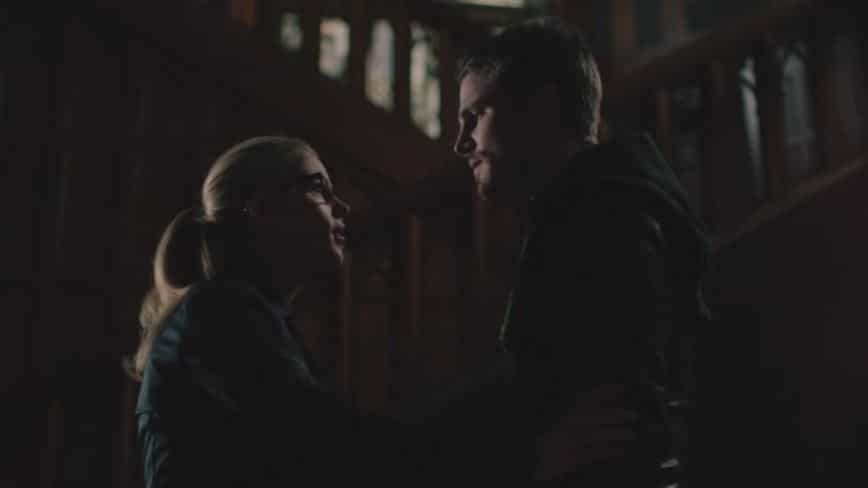 Oliver and Felicity love you scene 1