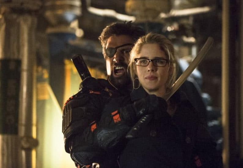 Slade and Felicity