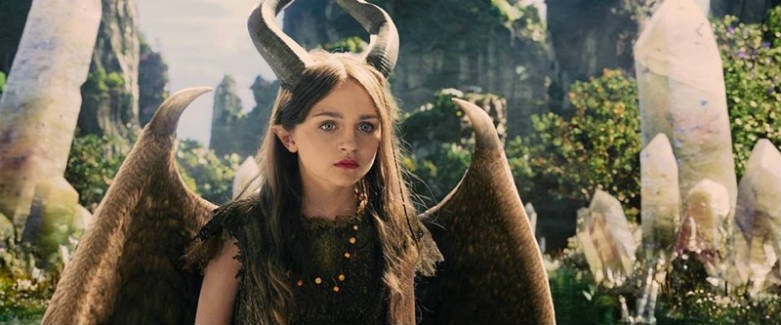 Young Maleficent (Isobelle Molloy) in Maleficent. Photo: Disney