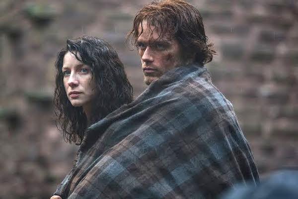 Jamie and Claire Photo: Starz