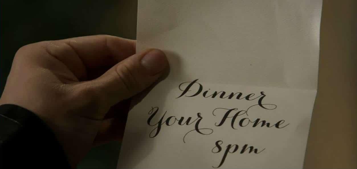 Dinner invite 1