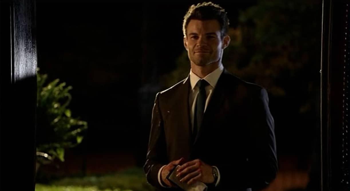 Elijah on doorstep