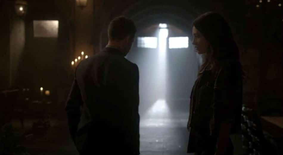Elijah walks away