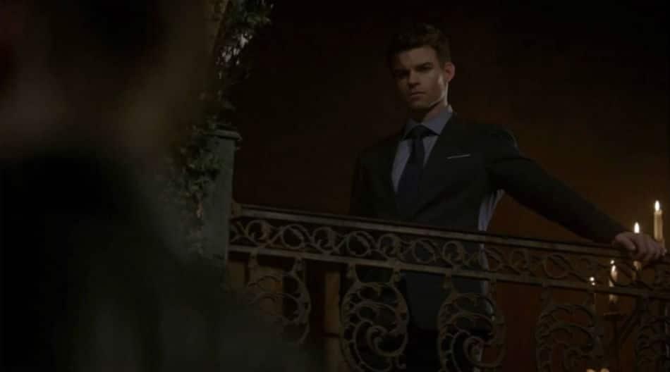 Elijah watches romantic moment