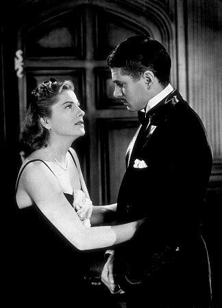 Laurence Olivier and Joan Fontaine in Rebecca Photo: 20th Century Fox