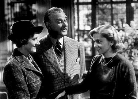 Joan Fontaine, Nigel Bruce, and Gladys Cooper in Rebecca Photo: 20th Century Fox