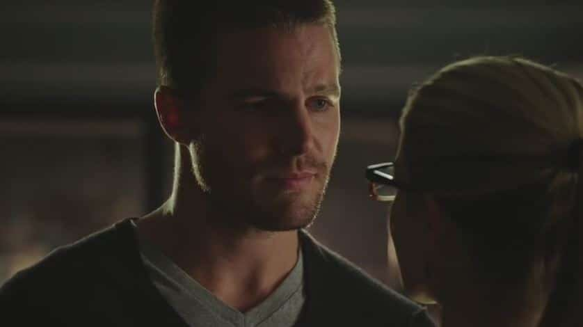 Oliver and Felicity breakup