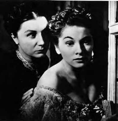 Joan Fontaine, Judith Anderson in Rebecca Photo: 20th Century Fox