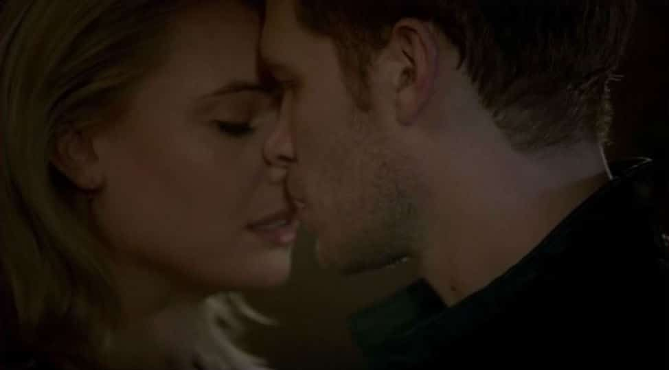 An almost kiss from season 2 - Klaus and Cami