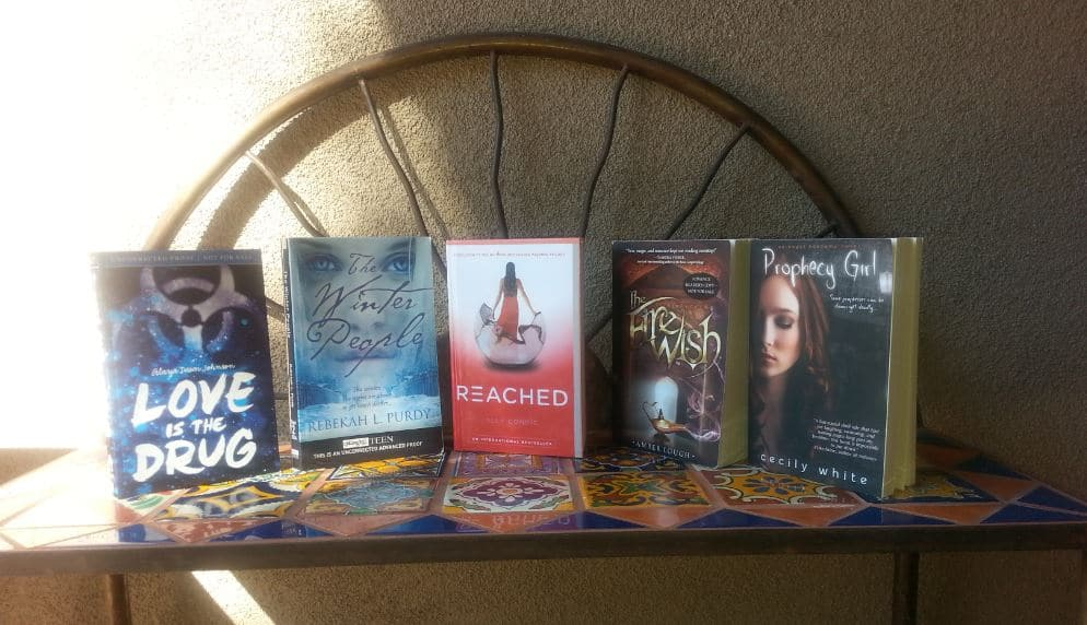 YA TOWER GIVEAWAY: WIN YA BOOKS, SIGNED ALLY CONDIE BOOK, JEWELRY, & AMAZON GIFT CARD