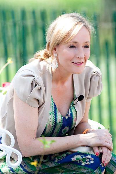 J.K. Rowling; famous fans of fairy tales