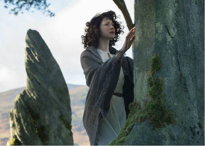 Claire standing stones outlander