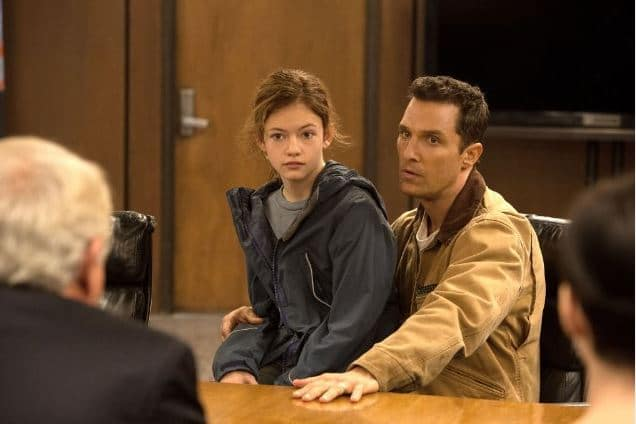 Cooper and Murph Photo: Warner Brothers