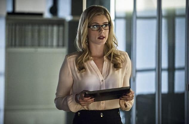 Felicity sees Ray Salmon ladder
