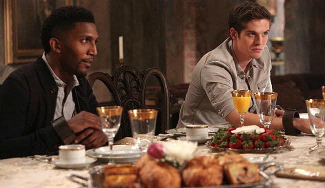 Finn and Kol dinner
