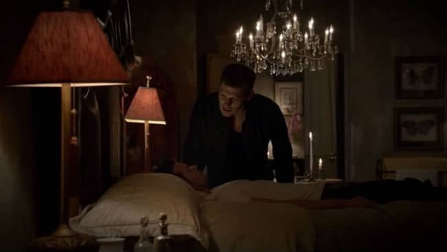 Klaus with Elijah dreaming beg 2