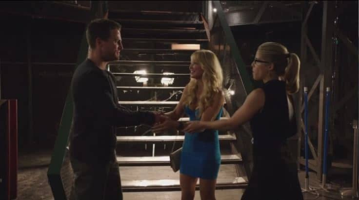 Oliver, donna and felicity