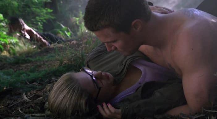 Felicity you're really sweaty