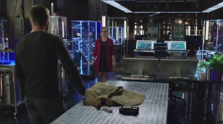 Oliver and Felicity_goodbye scene