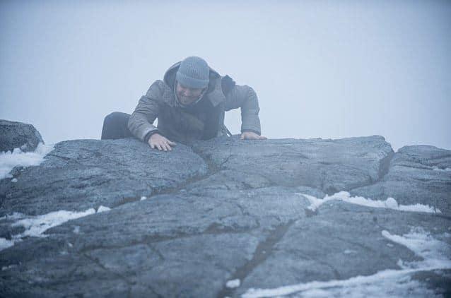 Oliver climbs mountain_Arrow
