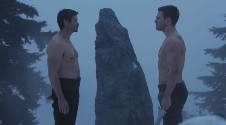 Ra's versus Oliver_Arrow