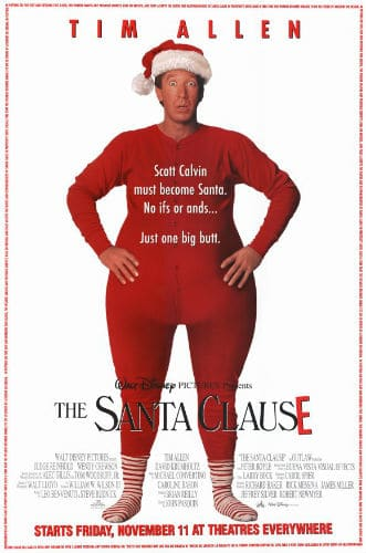 The santa clause poster