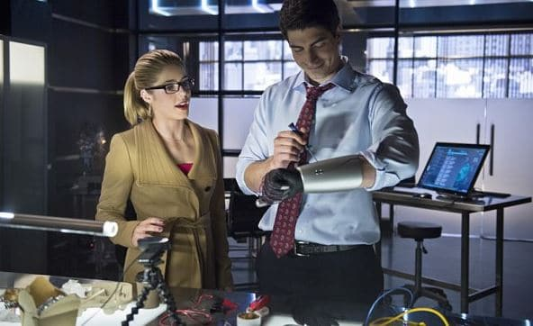Felicity and Ray one