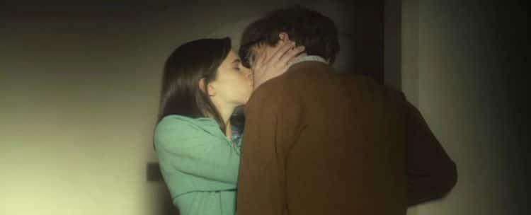 Jane and Stephen kiss 2