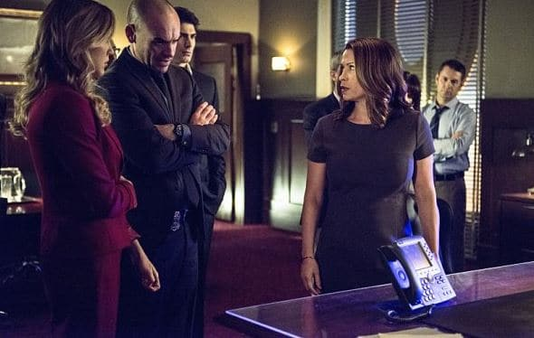 Laurel, Quentin, and mayor_ Arrow