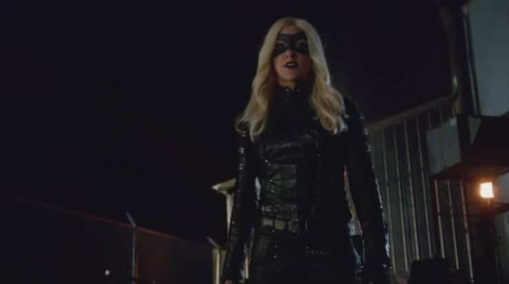 Laurel as black canary