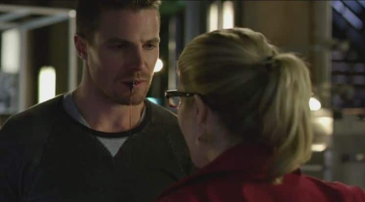 Oliver and Felicity dream blood