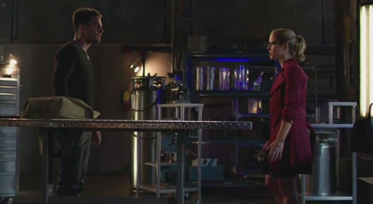 Oliver and Felicity dream
