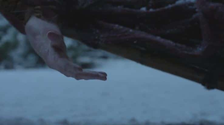 Oliver's hand