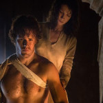 Jaime and Claire in Outlander